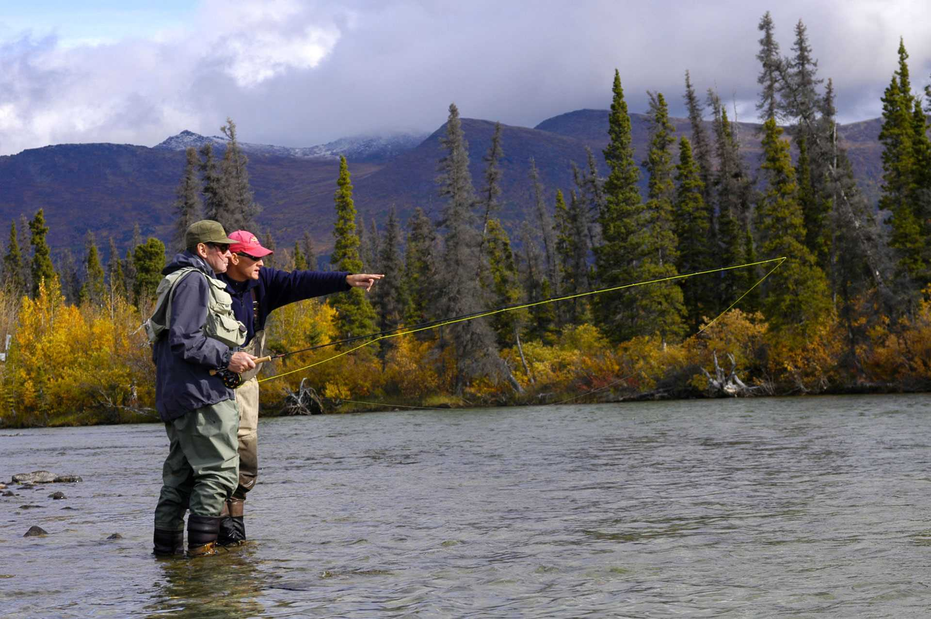 Fishing trip canada yukon pac voyages piam for Fishing trips in canada